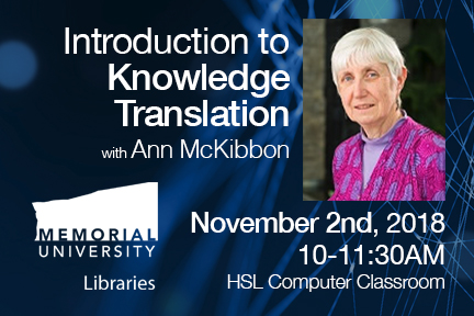 Introduction to Knowledge Translation