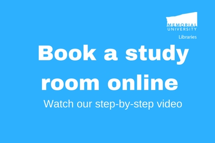 Book a study room online