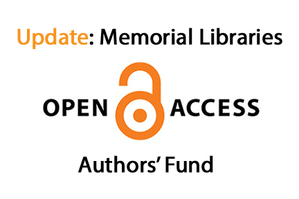 Update regarding Open Access Authors' Fund
