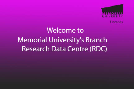 Memorial's Research Data Centre