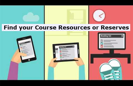 "We have a new Online Course ""Reserves"" System"