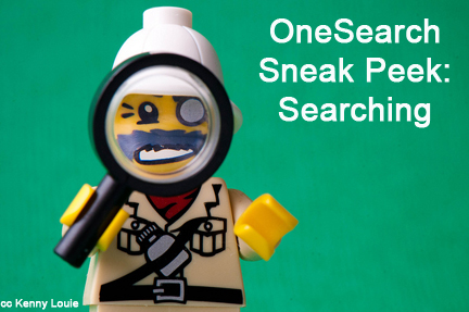 OneSearch overview searching
