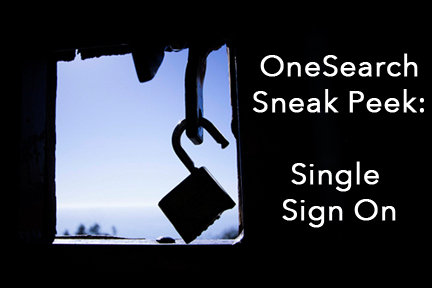 OneSearch Single Sign On