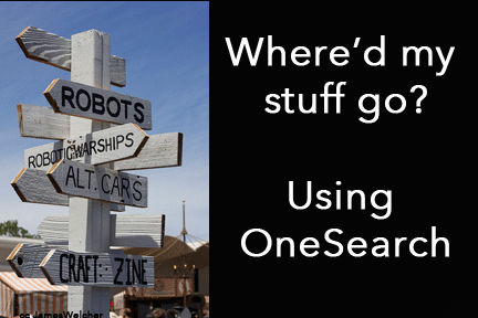 using onesearch