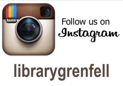 Follow us on Instagram @librarygrenfell