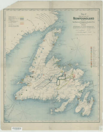 Memorial University Libraries - Map of newfoundland